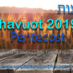 Shavuot 2019, The Feast of Weeks & The Great Harvest: Study of Exodus 19-20